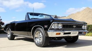 1966 Chevrolet Chevelle SS396 Convertible For Sale