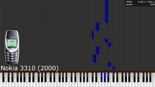 Dark MIDI - NOKIA TUNE (with history!)