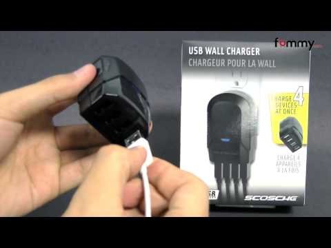 SCOSCHE� reVIVE IV 4-Port USB