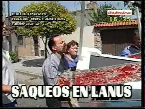 Saqueos 19 diciembre 2001 - Parte 02-Riots December 19th 2001-Part 02