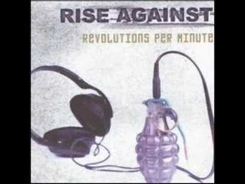 Rise Against - Blood-Red, White & Blue