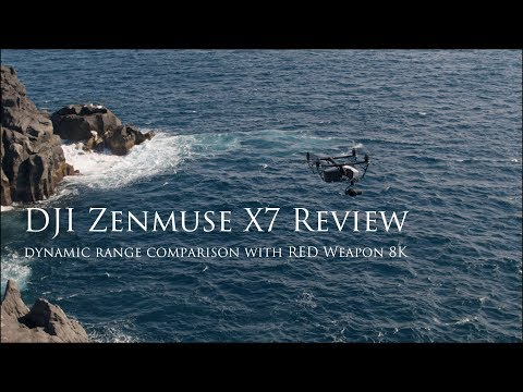 DJI Zenmuse X7 Camera Review -Dynamic Range Comparison with RED Weapon 8K-