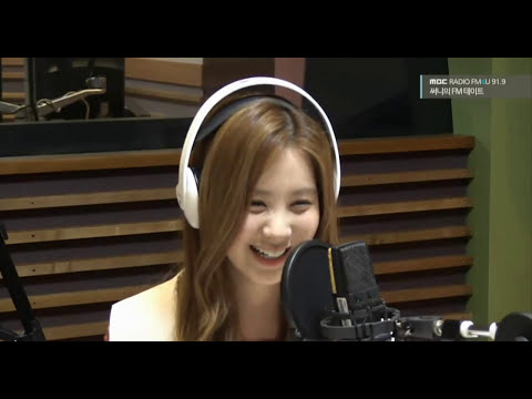 140919 Seohyun sang a line from Popular Song (Wicked musical)
