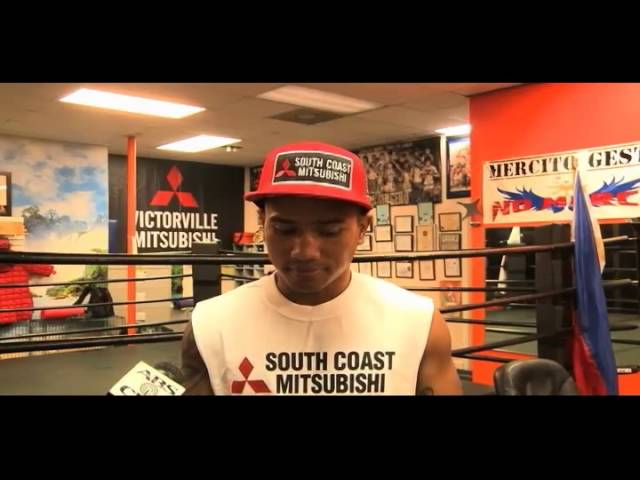 Filipino boxer Mercito Gesta feels confident about his first fight in 16 months
