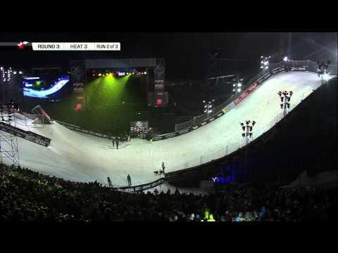 Stale Sandbech - Billabong Air & Style Innsbruck 2013 - Round 3