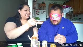 Baby Food Challenge! *Wife vs Husband*