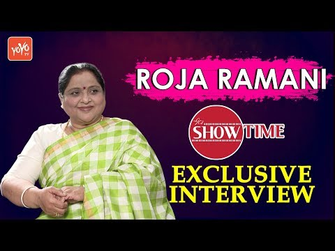 Hero Tarun Mother Actress Roja Ramani Exclusive Interview | It's Show Time | YOYO TV Channel