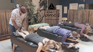 4K Chiropractic Adjusting FLOW - Serving 3 People w/ Dr  Brett Jones
