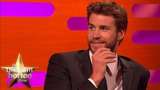 Liam Hemsworth Got Chest-Kicked By Jean-Claude Van Damme - The Graham Norton Show