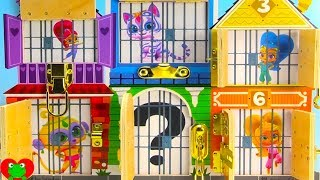 Shimmer and Shine In Jail Zeta Prank Maui and Moana Rescue