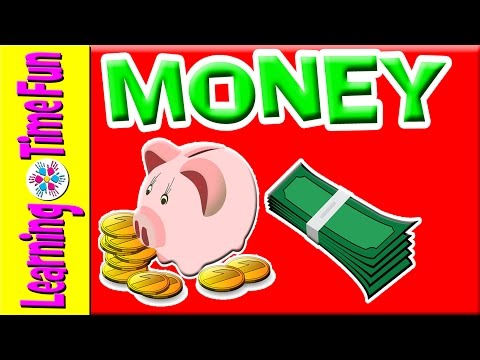 Learn about Money for Kids, Money, Currency, Kindergarten Money, Money Children, US Money, Kids Math