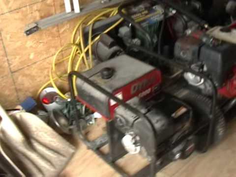 Honda Generator Cold Start