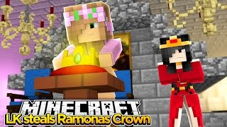 Minecraft - LITTLE KELLY STEALS RAMONAS CROWN!