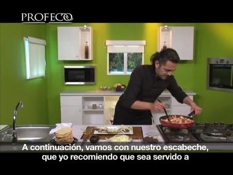 Platillo Sabio Profeco: Tostadas de camarón a la vinagreta [Revista del Consumidor TV 6.2]