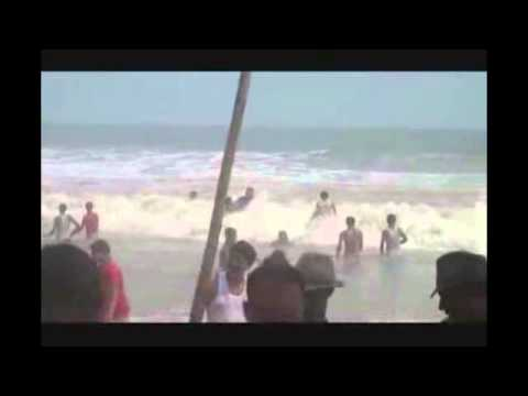Sumana Very Nice Girl Bathing In Digha Seabeach video