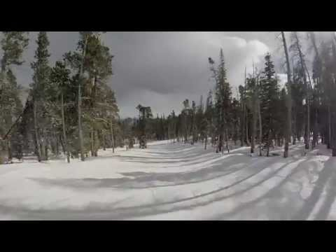 Eldora Mountain Resort - skiing intermediate runs