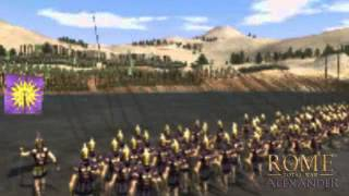 Rome Total War — Alexander trailer