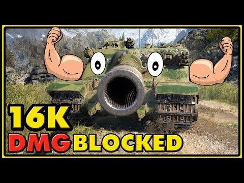 Tortoise - 16K Damage Blocked - World of Tanks Gameplay