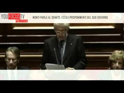 Il discorso di Mario Monti al Senato: i proponimenti per il futuro