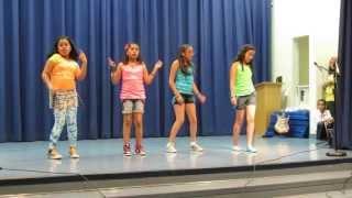 Danzin Divaz - 5th Grade Culmination Talent Show 06/07/2013