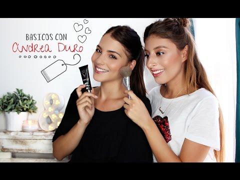 Maquillaje BASICO de ANDREA DURO /Que nunca te debe faltar (Basic Makeup)
