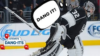 NHL Worst Plays of The Year - Day 21: Los Angeles Kings Edition | Steve's Dang Its