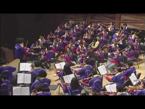 Incredible high school musicians from Venezuela! Led by Gustavo Dudamel