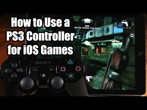 How to Use a PS3 Controller for iOS Games - Controllers for All - Jailbreak Tweak