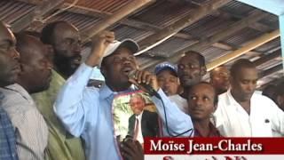 VIDEO: Aux-Cayes : Moise Jean-Charles di se vre gen moun ki lage nan mitan lanmè a