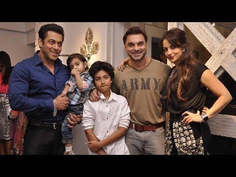 Salman Khan Ki CUTE Family | SALMAN Khan Life Story | Salman Khan News | Bollywood News and Gossip