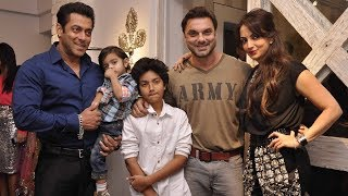 Salman Khan with family