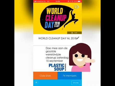 "World Cleanup Day - Instructie Litterati ""Join the WCD club"" thumbnail"