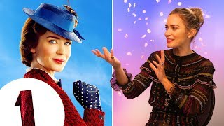 """""""I've made a huge mistake!"""" Mary Poppins' Emily Blunt on the perils of kite flying & baby puke"""