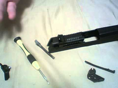 Ruger P95 Slide Disassembly