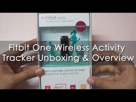 Fitbit One Wireless Acitvity & Sleep Tracker Unboxing & Overview