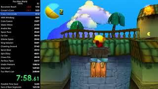 Pac-Man World 100% Speedrun in 1:23:22