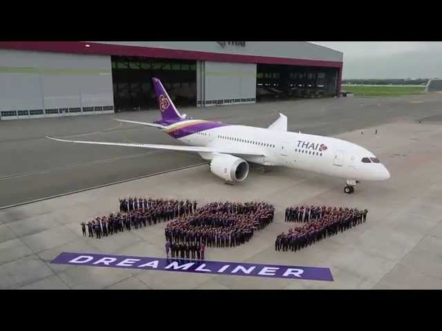 Thai Airways first 787 Dreamliner