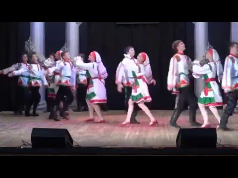 Мордовский танец Вадря