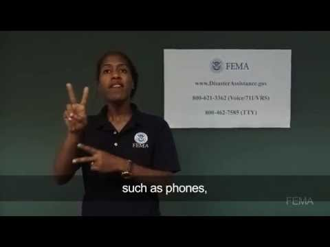 Disaster Recovery Centers (Disability Integration with ASL)