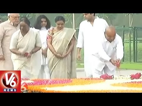 Meira Kumar Pays Tribute To Her Father Babu Jagjivan Ram | Delhi | V6 News