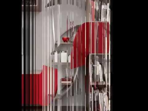 Arredamento zona giorno e notte in stile moderno Velvet Millennium by ARTIGIANOBILI