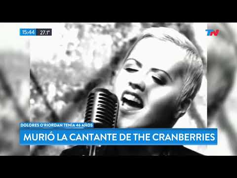 Murió la cantante de The Cranberries