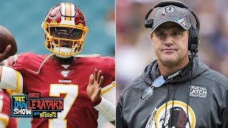 Jay Gruden opens up about Dwayne Haskins' potential | The Dan Le Batard Show