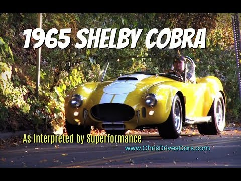Superformance Cobra - Shelby Cobra Test Drive with Chris Moran