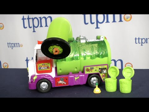 The Trash Pack Sewer Truck from Moose Toys