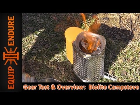 BioLite Camp Stove, Gear Test and Overview by Equip 2...