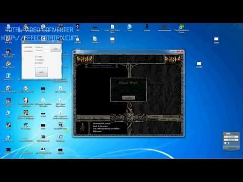 Diablo 2 NEW DUPE WORKS! ON PATCH 1.13.wmv