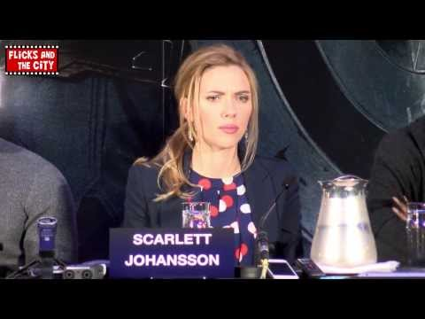 Scarlett Johansson Black Widow Interview - Captain America: The Winter Soldier