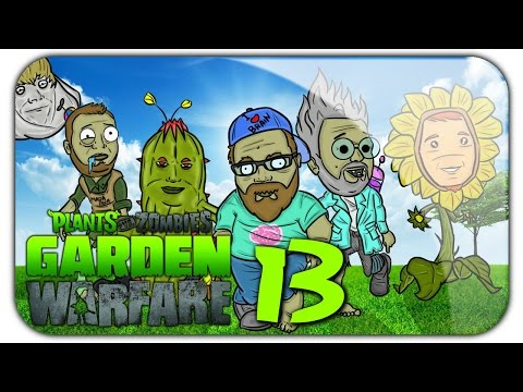 Plants vs Zombies Garden Warfare #13 Solo kolejka 1