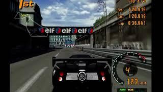 Gran Turismo 3 Arcade Mode Area D Rome Circuit Reverse